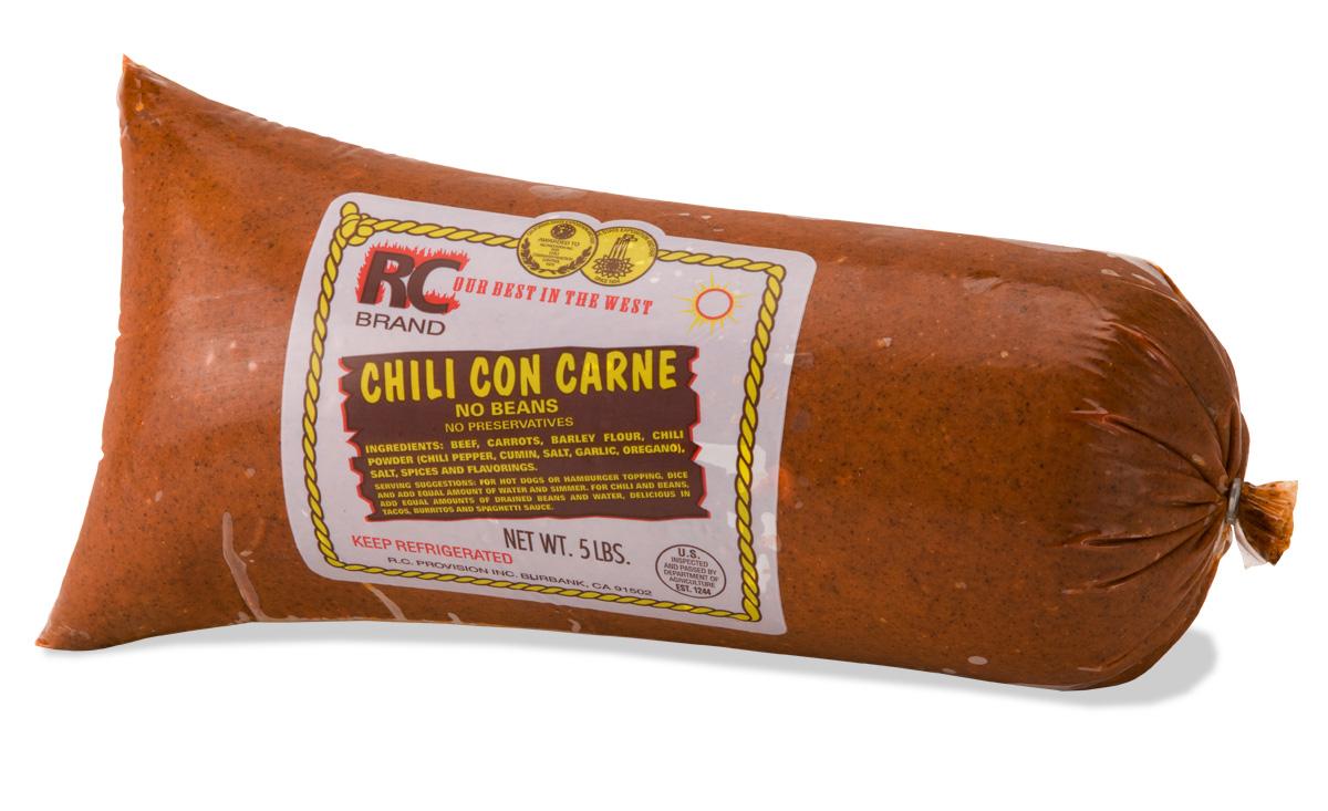 World Famous RC Provision Chili Con Carne