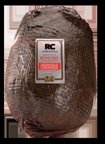 RC Brand roast beef top round