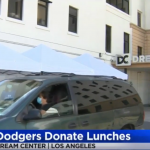 Giamela's Sandwiches donates food in coordination with the Dodgers