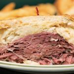 Pastrami Reuben Sandwich from Brent's Deli, RC Provision Customer