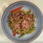 How to make Pastrami Pad Kee Mao (Drunken Noodles) with Kris Yenbamroong